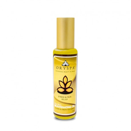 Rice Bran Rejuvenating Oil Jojoba & Green Tea Neroli 60ml