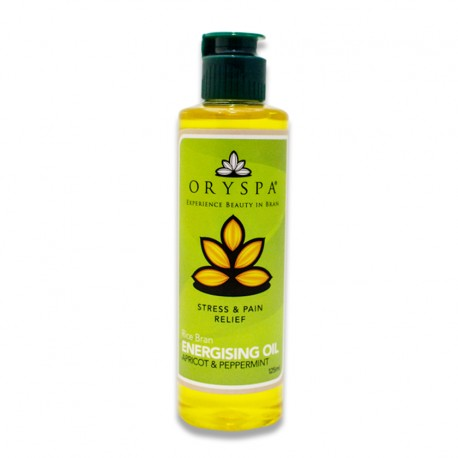 Energising Oil Apricot & Peppermint 125ml