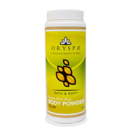 Rice Bran Body Powder Relax 100g