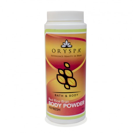 Rice Bran Body Powder Refresh 100g