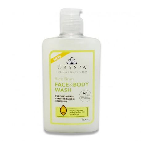 Rice Bran Face & Body Wash 120ml